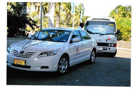 Private Arrival Transfer: Nadi Airport to Denarau Hotels