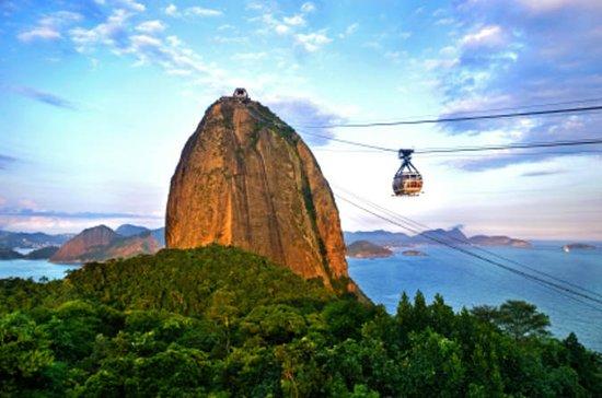 Rio de Janeiro with Christ Redeemer...