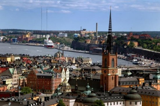 Stockholm Shore Excursion: Stockholm...