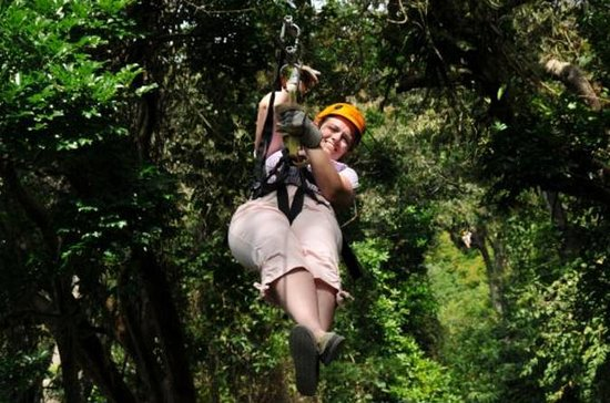 Roatan Zipline Canopy Tour and Beach...