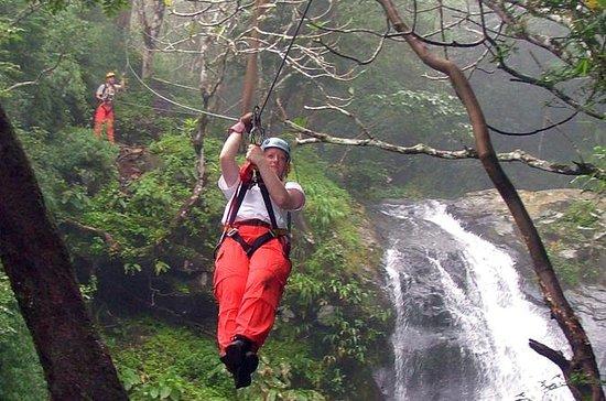 Puntarenas Shore Excursion: Waterfall