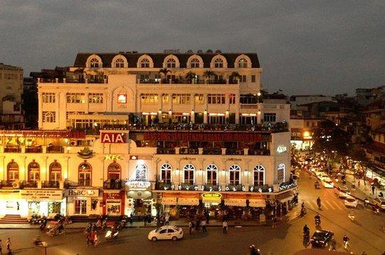 Exploring Hanoi by Motorbike...