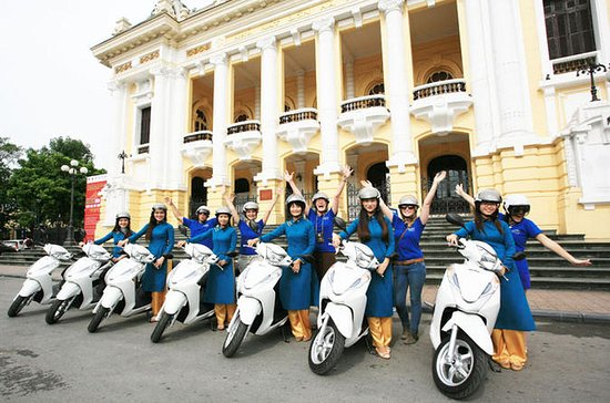 Half-Day Hanoi Motorbike Tour