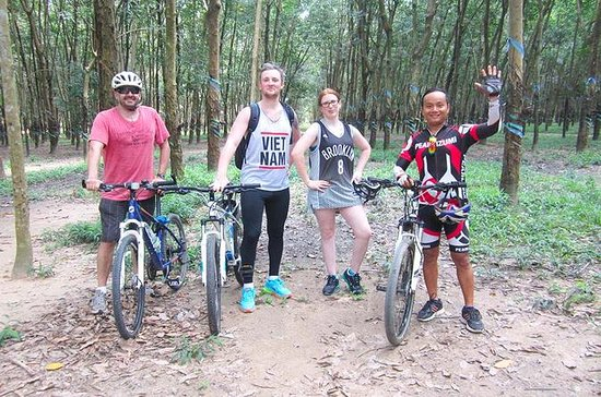 Cu Chi Tunnels Cycling Tour from Ho...