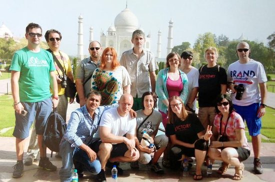 Taj Mahal and Agra Tour By Car From