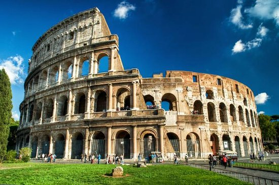 Colosseum, Forum, Palatine Hill...