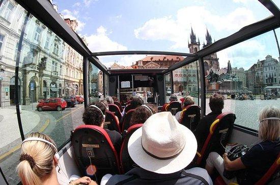 Historische panoramische bustour door Praag