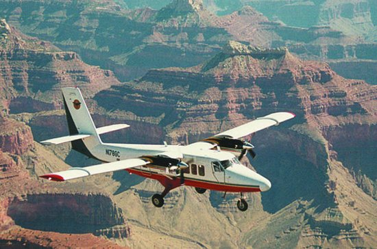 Grand Canyon : survol en avion du...