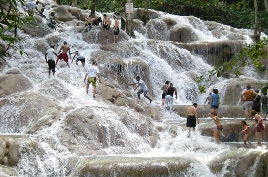 Dunn's River Falls en Luminous Lagoon ...
