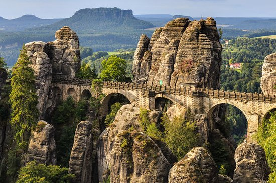 Bohemian and Saxon Switzerland...