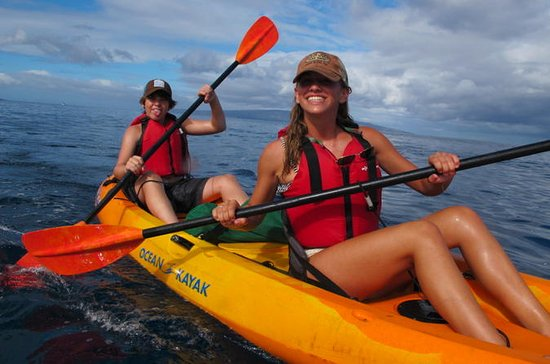 South Maui Kayak e Snorkel Tour com...