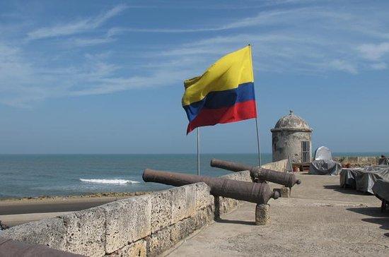 Cartagena de Indias Colonial Walls...