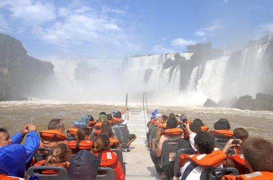 Argentinische Iguazú-Wasserfälle...