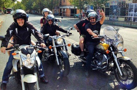 Seville City Sightseeing Motorbike Tour