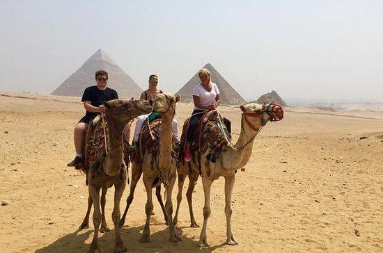 Giza Pyramids and Sphinx: Guided Day...