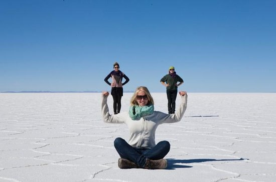 Uyuni Salt Flats Full-Day Tour from...