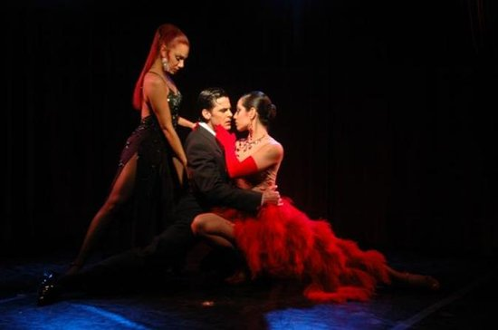 Rojo Tango Show with Optional Dinner...