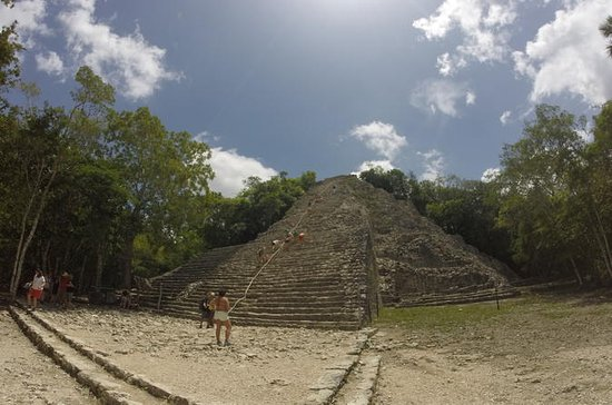 Coba Ruins with Cenote and Lunch from