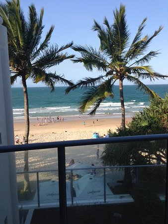 On The Beach Noosa: Balcony view