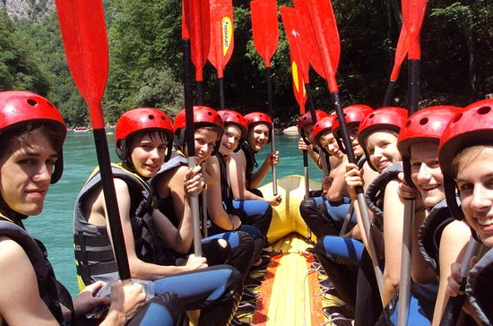 Rafting on Tara River from Zabljak
