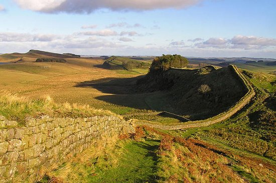 Hadrian's Wall, the Scottish Borders ...