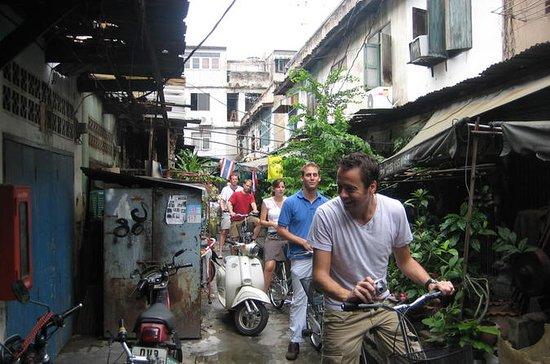 ランチ付きの5時間のバンコク サイクリング ツアー