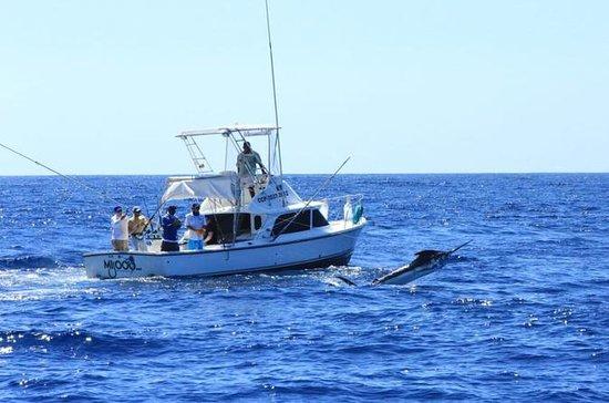Pesca esportiva no Pacífico da Cidade...