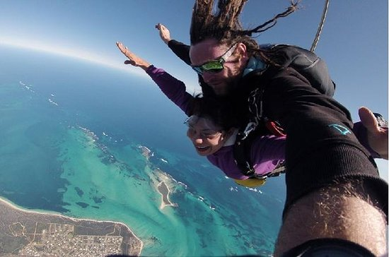 Jurien Bay Tandem Skydive, Pinnacles...