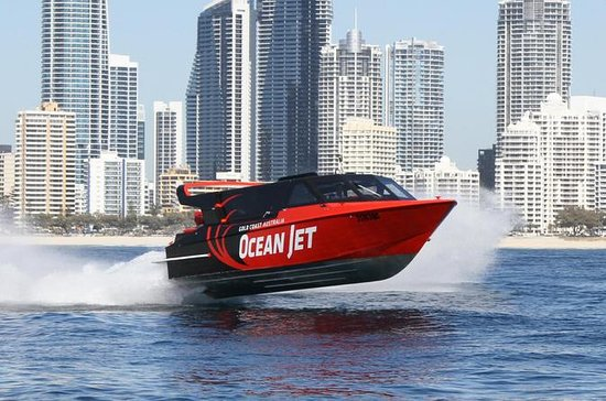 Ocean Jet Thrill Ride sulla Gold Coast
