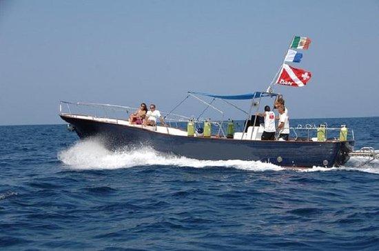 Escursione in barca a Paestum