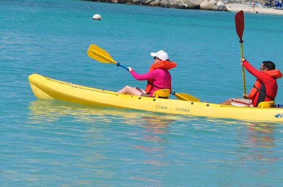 Saint-Martin en Kayak et plongée avec...