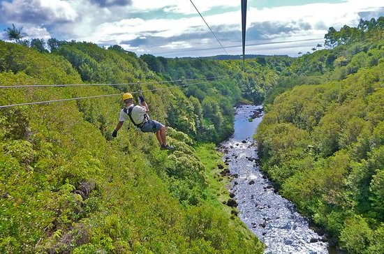 Zipline Through Paradise: Parcours...