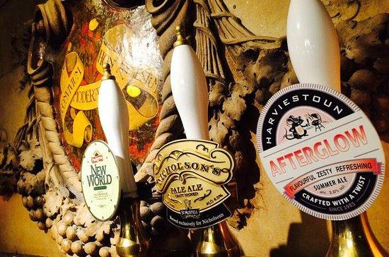 Noite de cerveja tradicional...