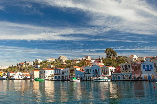 Boat Trip to the Greek Island of Meis...