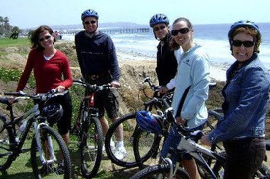 La Jolla Coast Bike Tour with Downhill Ride from Mt Soledad