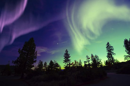 Northern Lights Small-Group Tour from...