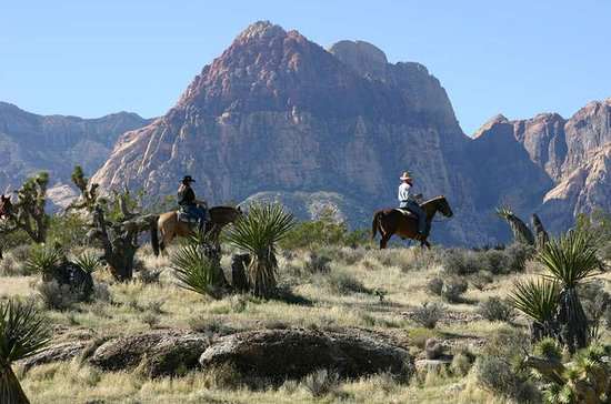 Red Rock Canyon Sunset Horseback Ride...