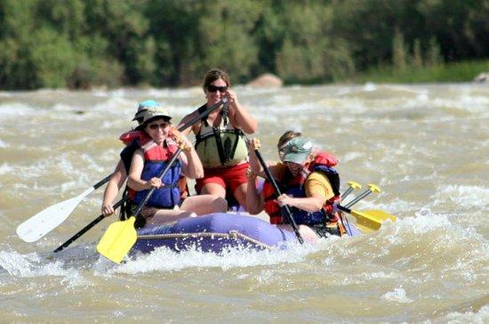 Moab halvdags rafting tur