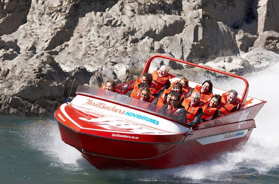 Extreme Jet Boating i Hanmer Springs