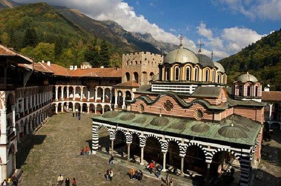 Rila kloster og Boyana kirke med lett...