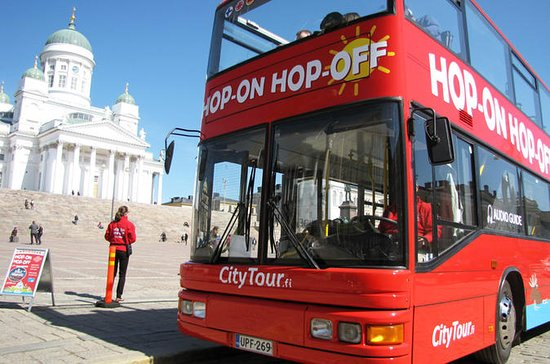 Helsinki Red Bus 24h Hop-On Hop-Off...