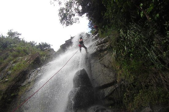 Waterfall Rappelling at Antelope...