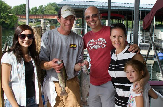 Branson Half Day Guided Fishing Trip
