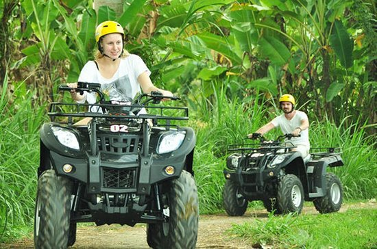Full-Day Bali Adventure Tour med quad...