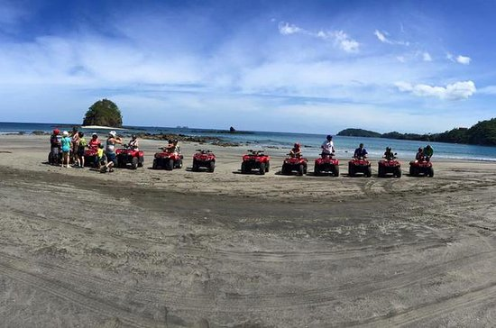 ATV and Canopy Zipline Tour from...