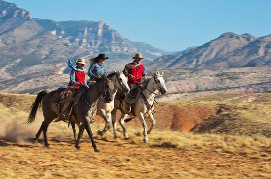 Escursione a cavallo nella Sacred