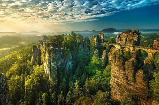 Bohemian, Saxon Switzerland National Park Tour from Prague