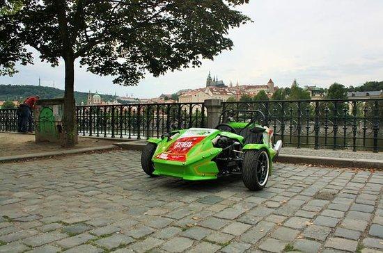 Tour autonomo delle attrazioni di Praga in triciclo inclusa audioguida