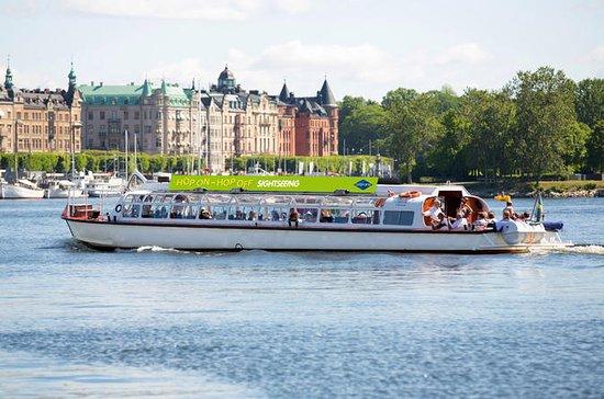 Excursión en barco con paradas libres por la ciudad de Estocolmo
