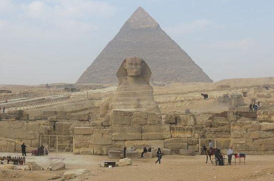 Visita de dia inteiro para as pirâmides...
